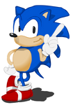 Hey There, it's Sonic the Hedgehog! by Vigorousjammer
