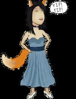 Jeanette the Fox by Vigorousjammer