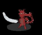 The Red-Bellied Kitty Tengu by Vigorousjammer