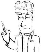 Dr. Bamm's Experimental Brain Enhancement Drug by Vigorousjammer