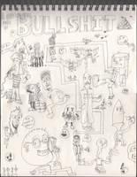 A Gigantic Page of Bullshit by Vigorousjammer