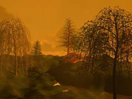 Daybreak Landscape 2 by Vigorousjammer
