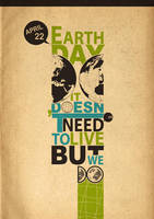 Earth DAY 22 April by Man-i