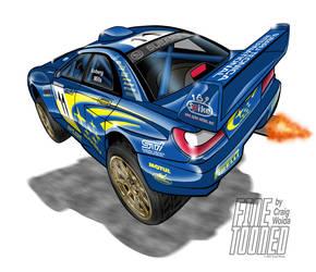 Subaru WRC 2002 by FineTooned