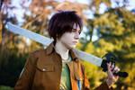 Eren (Attack on Titan) - Not gonna die by Snowblind-Cosplay