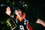 Kageyama (Haikyu!!) - High Five by Snowblind-Cosplay