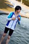 Haruka Nanase (Free!) - I'll beat all of you! by Snowblind-Cosplay
