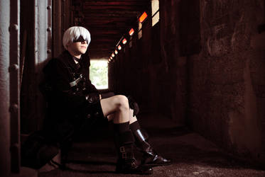 9S (NieR: Automata) - Designed to assist by Snowblind-Cosplay