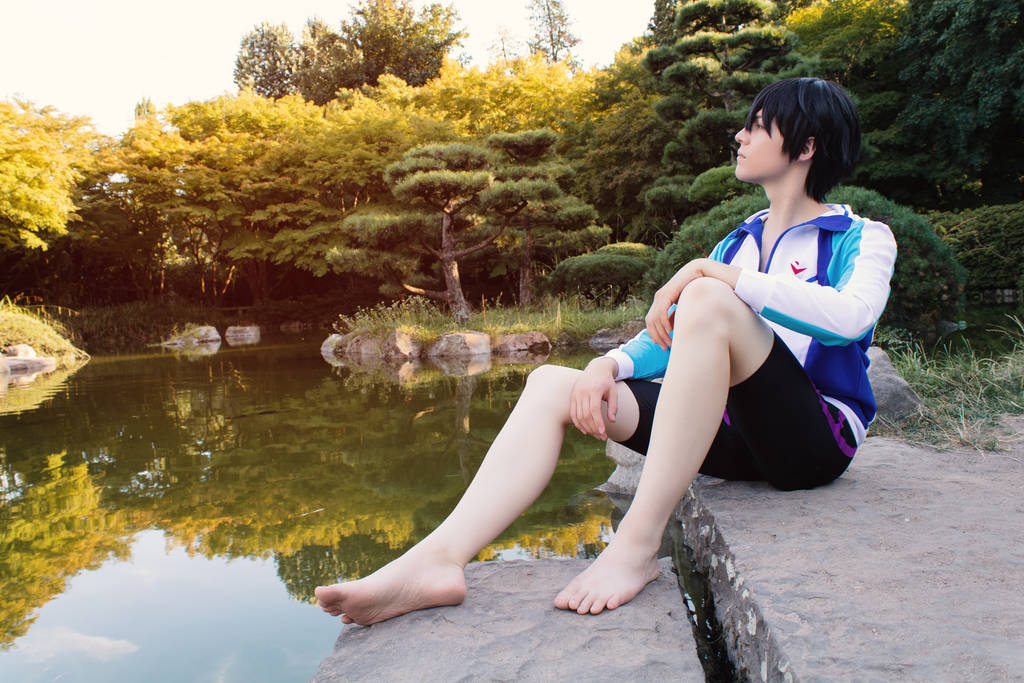 Haruka Nanase (Free!) - Not alone by Snowblind-Cosplay