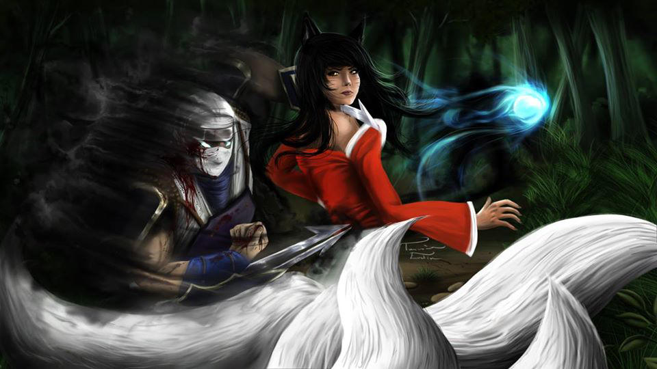 Zed vs Ahri by The-Dewfrost ...