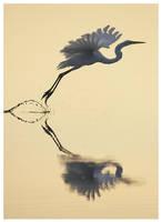 Egret Flight by Ian-Plant