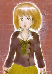 Private School Girl by waterystar