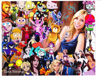 Tara Strong...maybe next year by Staredcraft