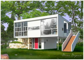 Rose Seidler House Remake by brianbayona