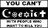[Stamp] Coexist- lolwut? by Vovina-de-Micaloz