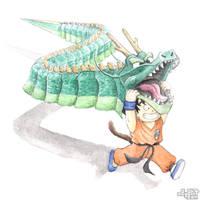Dragon Costume by C0y0te7