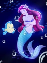 The Little Mermaid by mayamatout
