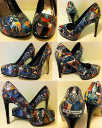 Batman High Heels by MargotlaRue