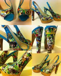 Rogue High Heels by MargotlaRue