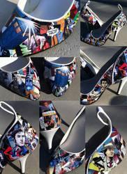 Doctor Who Heels by MargotlaRue