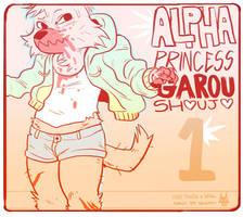 alpha princess garou shoujo by strayheadache