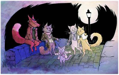 a stroll in the dark by strayheadache