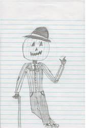 Pumpkin Headed Gentlemen by Lustellsol