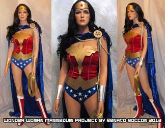 Wonder Woman Custom Mannequin Project 2013 by renstar71