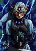 Fierce Deity Link by Oremaru