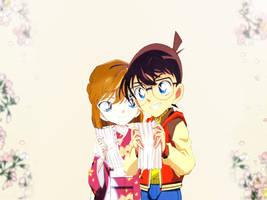 Conan X Ai - A Festival Date by MiyukiSasaki