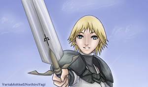 Hilda, Claymore by VertaMoltke