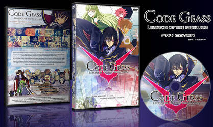 DVD Cover: Code Geass by N1z1ra