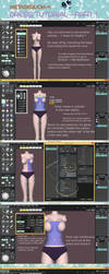 .:: Metasequoia 4 Simple dress pt 1 - Tutorial ::. by AneCoco