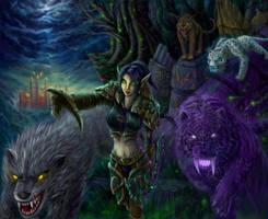 Huntress Valita by Ka7
