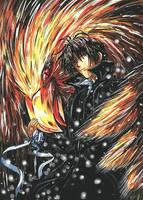 Tsuzuki and Suzaku by Ka7
