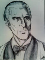 Christopher Lee-Mr. Corrigan by infamously-dorky