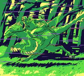 velociraptor by infamously-dorky