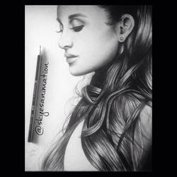 Ariana grande butera by skyesanimation