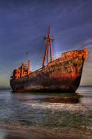 the shipwreck II by fokalexandris