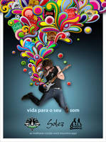 life to your sound poster by tutom