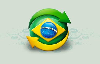 Logo Brasil by tutom