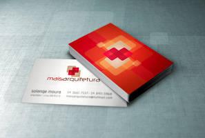 Mais Arquitetura Business Card by tutom