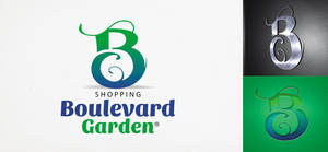 Shopping Boulevard Garden Logo by tutom
