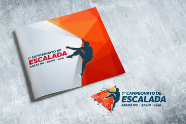 Climbing Championship - book and logo by tutom