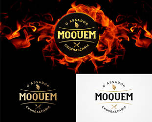 Moquem - Steak House Logo by tutom