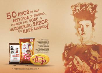 Dona Beja - Brazilian Coffee Advertising by tutom
