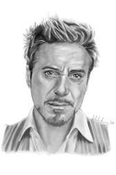 Tony Stark by Evandion