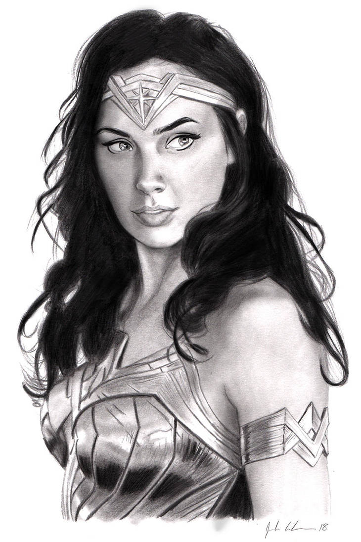 Wonder Woman by Evandion
