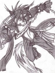 Javen the Slayer by Rykuu