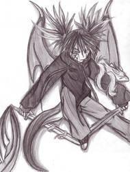 Whei - Half Dragon by Rykuu